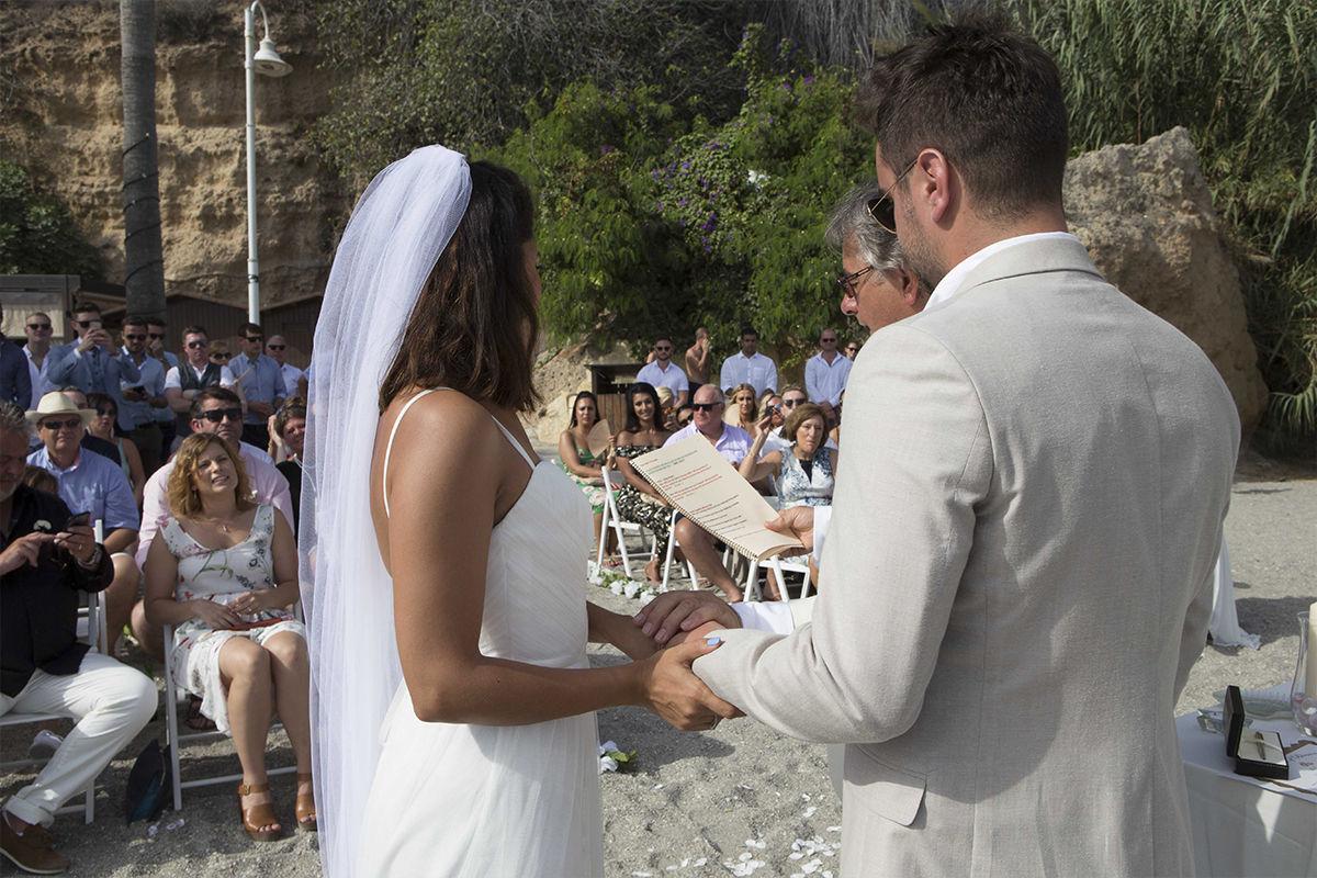 Spanish bride dress white