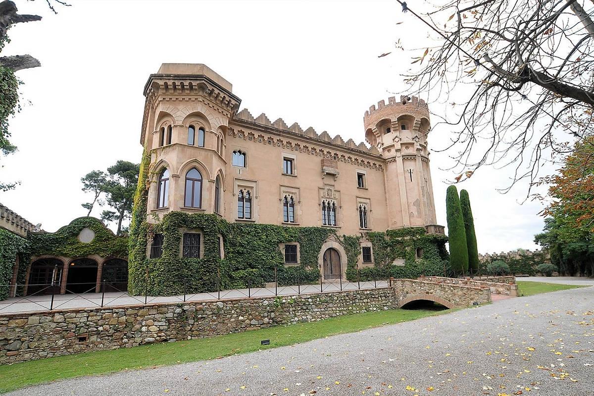 Venue Barcelona Spain Castle